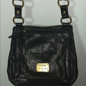 Fossil genuine leather crossbody